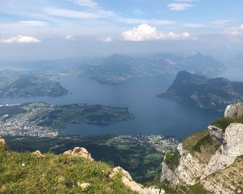 Lucerne Lake Scenic View