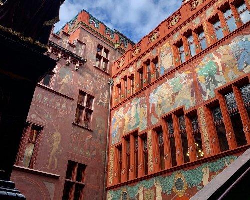 Basler Rathaus Courtyard