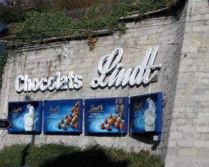 Zurich Lindt Sign